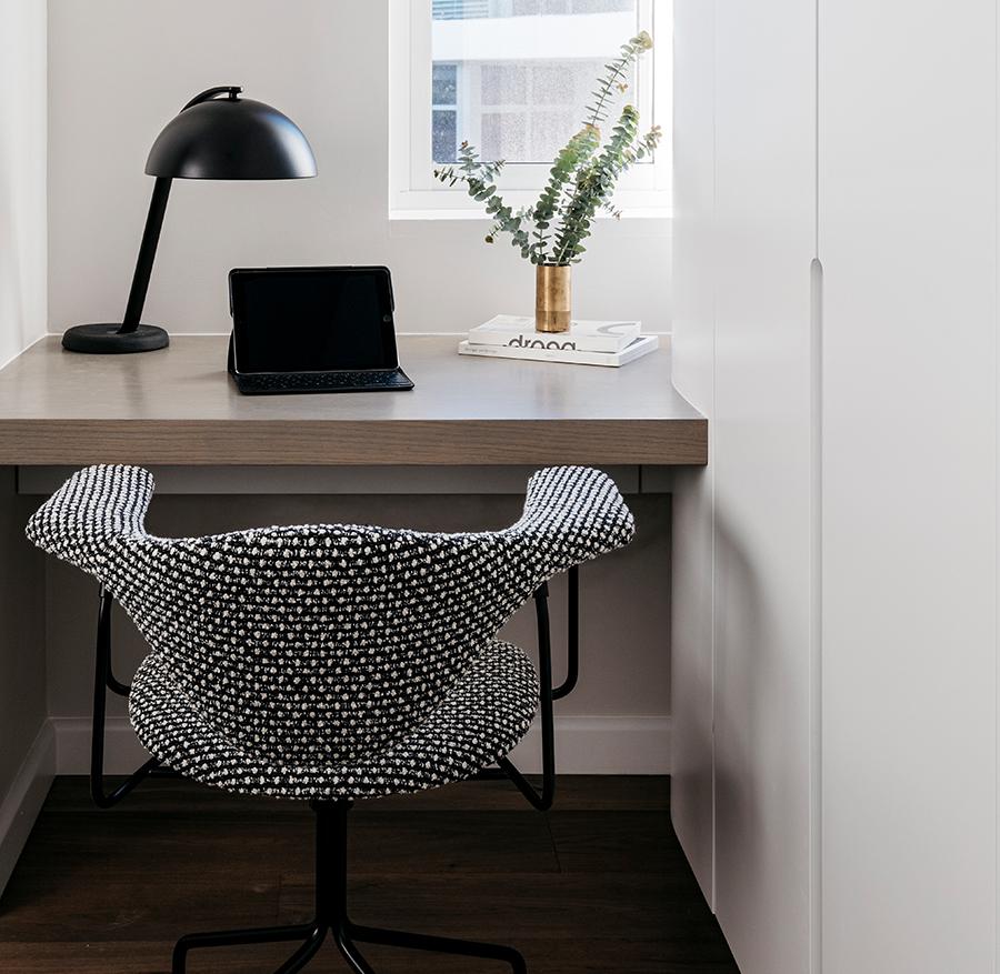 Desk & office area