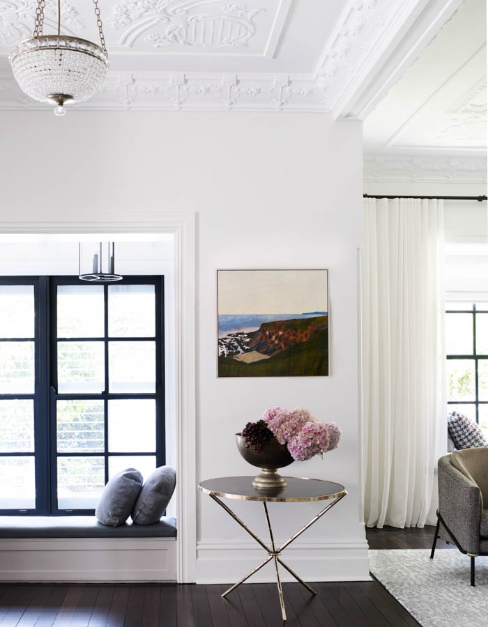 Window seating & side table